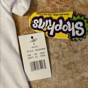 Shopkins Shirts & Tops - Shopkins White Tee Size L